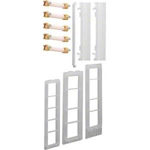 Hager ZM15S - Sammelschienenverbinder, Schrank/Schrank, univers Z, 5-polig, CU 12x5mm, 250A