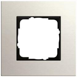 Abdeckrahmen 1-fach - Esprit (Linoleum-Multiplex Hellgrau)