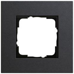 Abdeckrahmen 1-fach - Esprit (Linoleum-Multiplex Anthrazit)