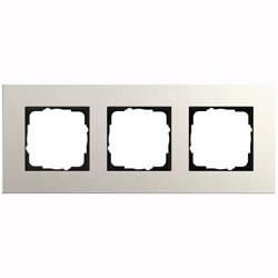 Abdeckrahmen 3-fach - Esprit (Linoleum-Multiplex Hellgrau)