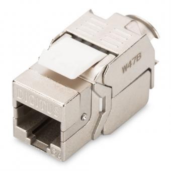 DIGITUS Professional CAT 6A Keystone Modul, RJ45 8(8), geschirmt
