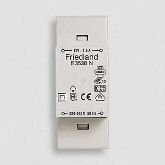 Friedland E3538N - Klingeltransformator 12V / 1,5A