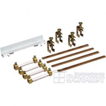Hager ZM45S - Sammelschienenverbinder, Schrank/Schrank, univers Z, 5-polig, CU 12x5mm, 250A