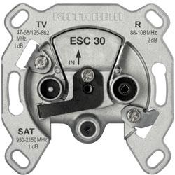 Kathrein ESC30 - Einzelanschlussdose 3-fach  - 1 dB