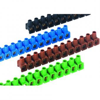 OBO Bettermann 70 VDE - Dolü-Abzweigklemmen, farblich sortiert, 2,5mm², 12-polig, 10 Stück
