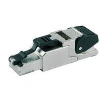 Telegärtner MFP8 T568 A - Feldkonfektionierbarer Steckverbinder Cat.6A, AWG 22-27