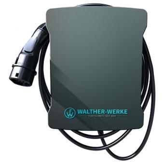 Walther Wallbox basicEVO, 11 kW, 5 m Ladeleitung mit Typ-2-Ladekupplung